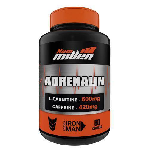 Tudo sobre 'Adrenalin 60 Caps New Millen'