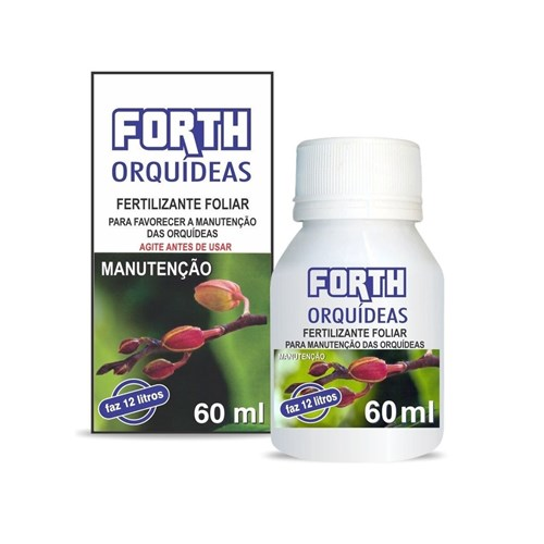 Adubo Forth Orquídeas Manutenção 60Ml