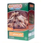 Advocate Cães Ate 04 Kg (0,4 Ml) Combo Leve 3 Pague 2