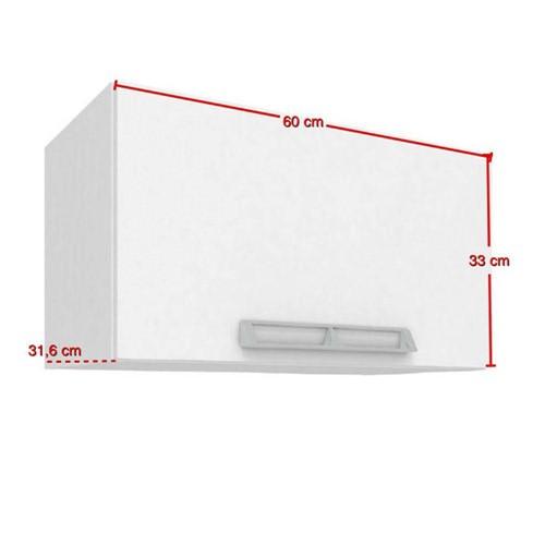 Tudo sobre 'Aéreo Basculante 60x33 Cm Branco - Art In Móveis'