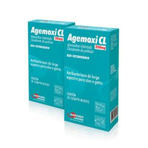 Agemoxi 250 Mg 10 Comp