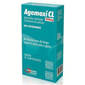 Agemoxi Cl 250Mg - 10 Comprimidos