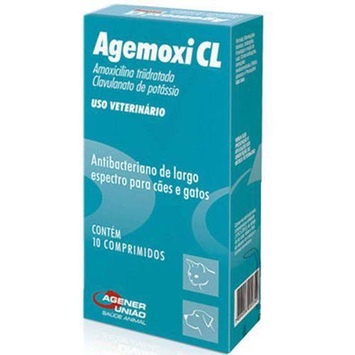 Agemoxi Cl 250mg - Caixa com 10 Compr.