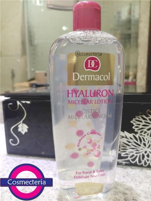 Água Micelar Dermacol Hyaluron Micellar 400mL