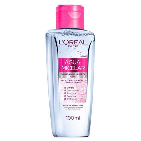 Tudo sobre 'Solução de Limpeza Facial L'oréal Água Micelar 100Ml'