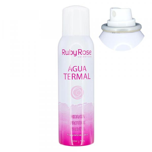 Água Termal Ruby Rose 150ml 140g