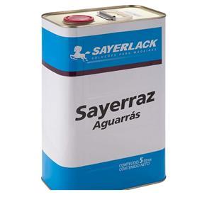 Aguarrás Sayerrazincolor Sayerlack Sayerlack - 5 Litros
