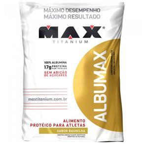 Albumax 100% - 500 G - Max Titanium - Baunilha