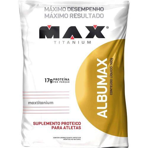 Albumax 100% 500g Max Titanium Baunilha