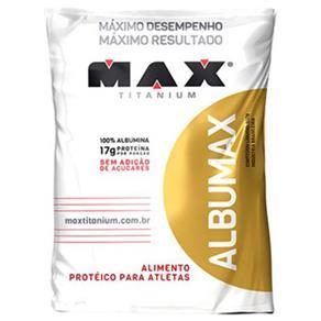 Albumax 100% - Max Titanium - Baunilha - 500 G