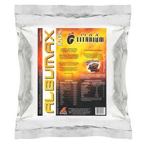 Albumax 100% Max Titanium - BAUNILHA - 500 G