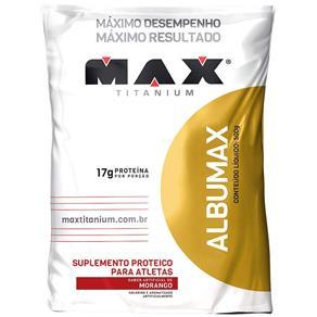 Albumax 500G Max Titanium Morango (Refil)