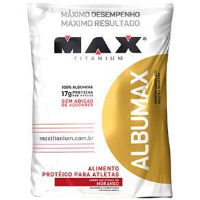 Albumax Max Titanium - Morango - 500 G