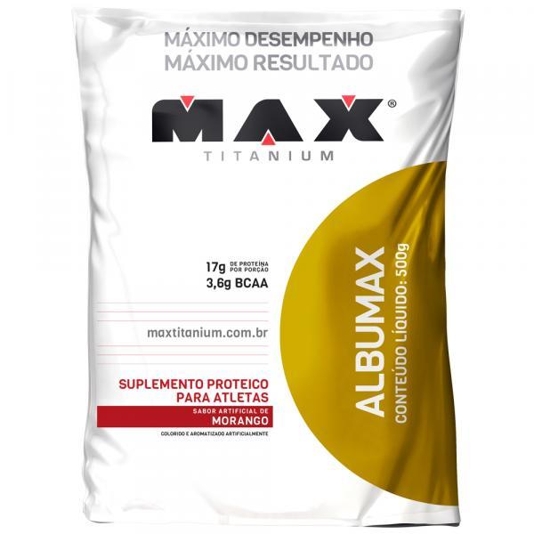 Albumina Albumax 100 Max Titanium 500g