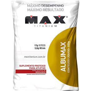 Albumina Albumax - 500G - Max Titanium - MORANGO