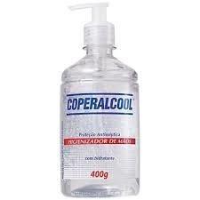 Álcool Gel para Mãos Coperalcool 400 Gr Pump