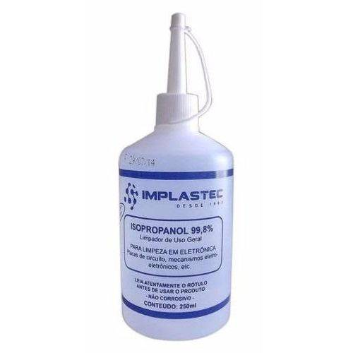 Tudo sobre 'Álcool Isopropílico 250ml Implastec'