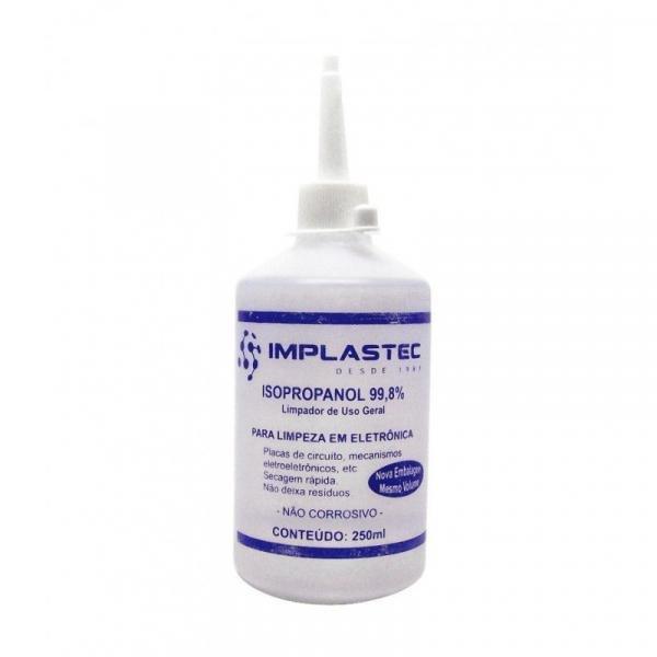 Alcool Isopropilico 250ML - Implastec