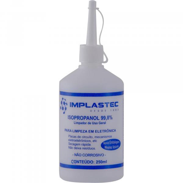 Álcool Isopropílico Isopropanol 250ml IMPLASTEC