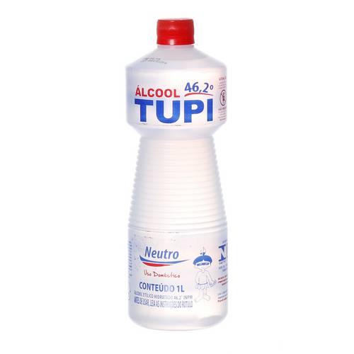 Tudo sobre 'Álcool Líquido 46,2° Inpm com 1 Litro Tupi'