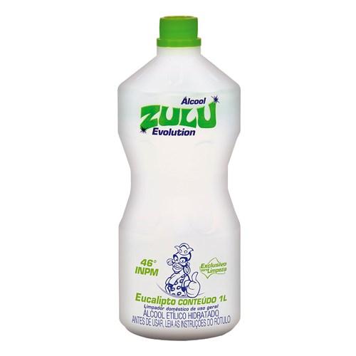 Álcool Zulu de Eucalipto 1 Litro