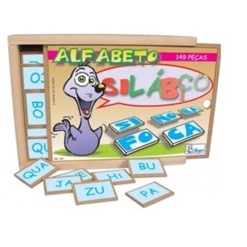 Tudo sobre 'Alfabeto Silábico 149 Peças'