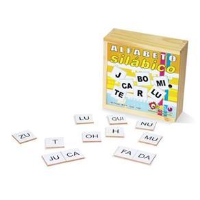 Alfabeto Silabico - 150 Peças