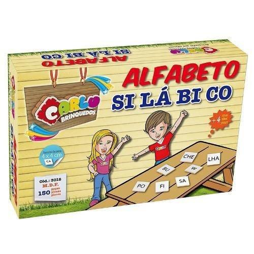 Alfabeto Silabico 150 Peças