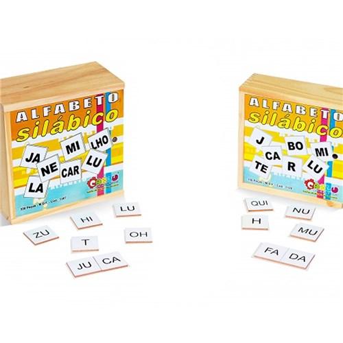 Alfabeto Silábico - 350 Peças