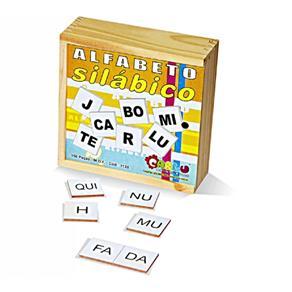 Alfabeto Silábico Madeira - Carlu