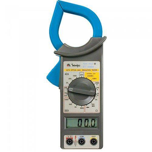 Tudo sobre 'Alicate Amperímetro Digital Et3200 Minipa'