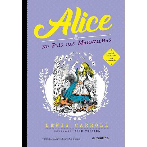 Alice no Pais das Maravilhas - Autentica