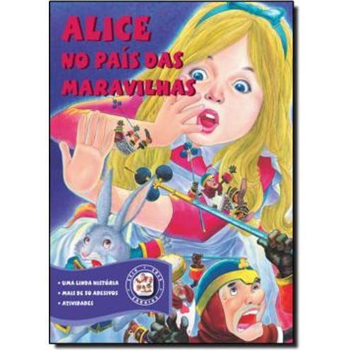 Alice no Pais das Maravilhas C/Adesivos