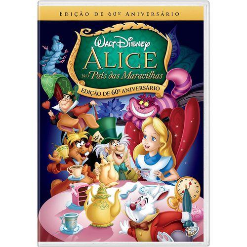 Alice - no País das Maravilhas (dvd)
