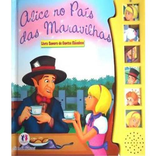 Alice no Pais das Maravilhas - Livro Sonoro