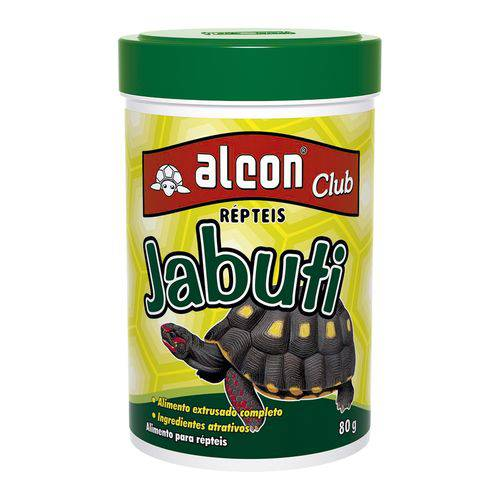 Tudo sobre 'Alimento Jabuti Alcon Club 80g'