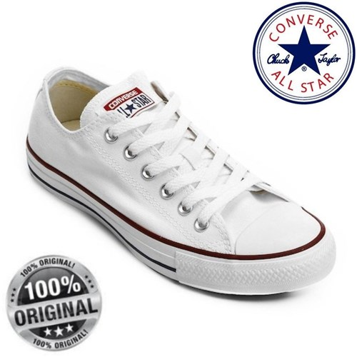 All Star Ct Branco Marinho - Original (33)
