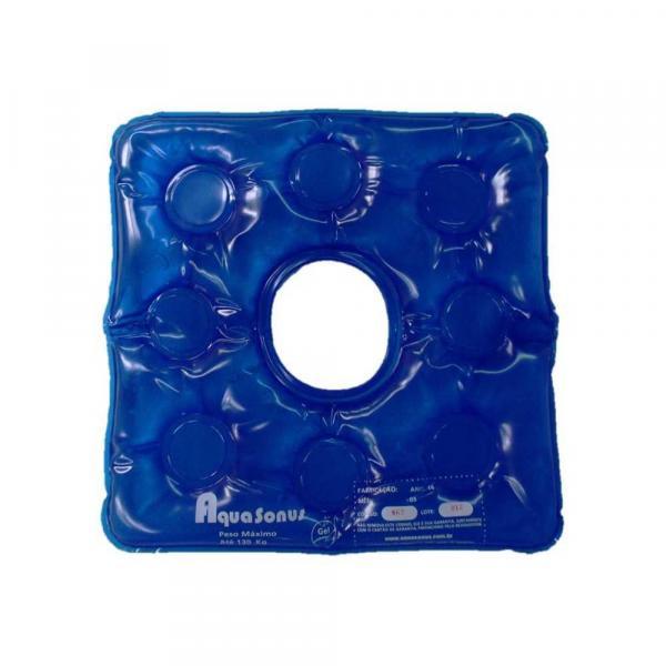 Almofada Caixa de Ovo Inflável Quadrada com Orifício Aquasonus