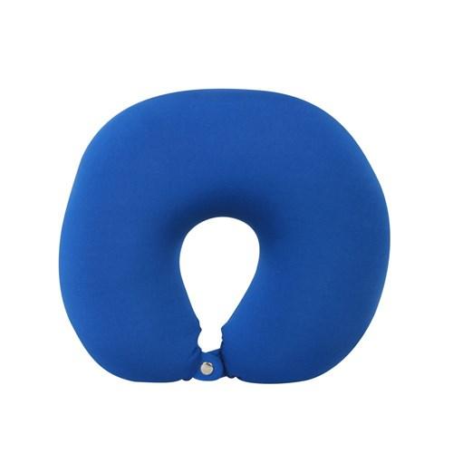 Almofada de Viagem Azul Marinho Floc