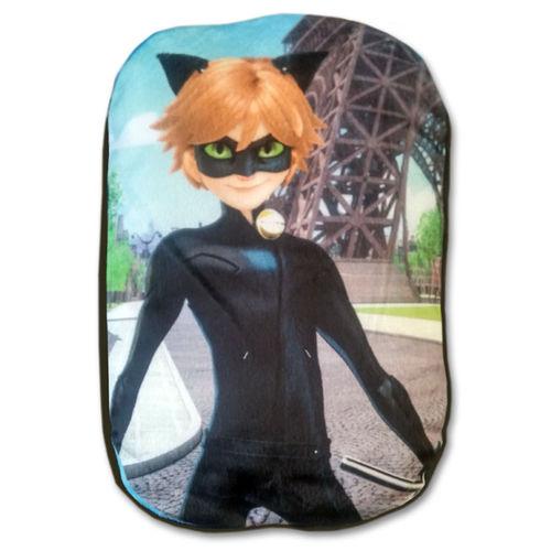 Almofada Miraculous Ladybug - Cat Noir - Multibrink