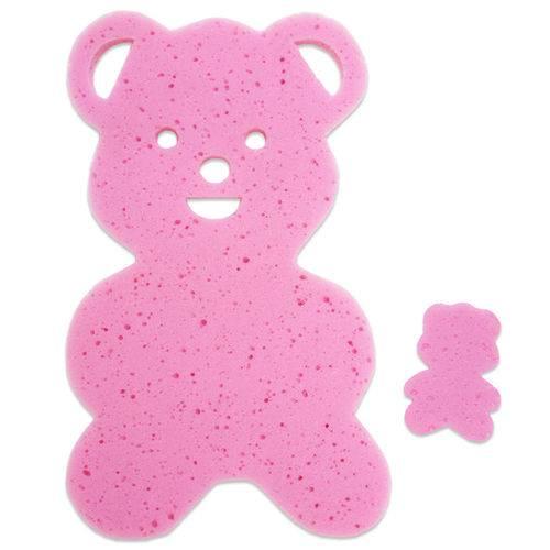 Tudo sobre 'Almofada para Banheira Urso Rosa'