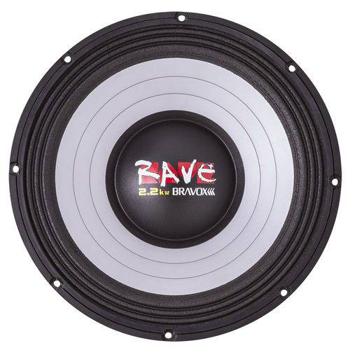 Tudo sobre 'Alto Falante Bravox Rave Rv15-s4 2.2kw 15 Polegadas 1100 W Rms 4r Woofer'