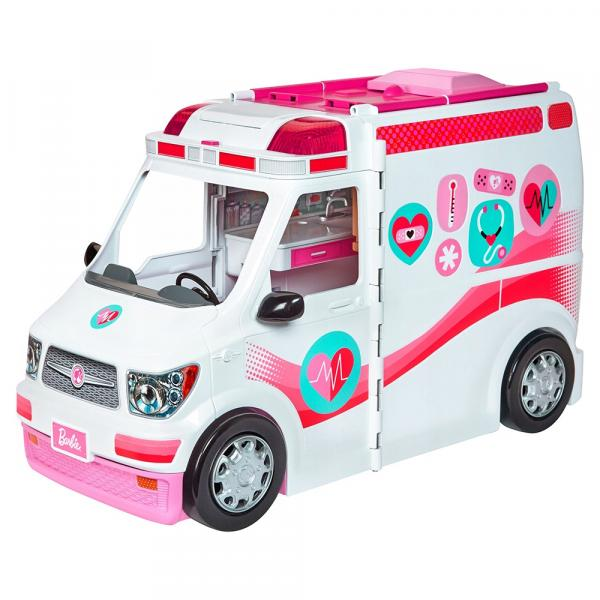 Ambulância e Hospital da Barbie - Mattel