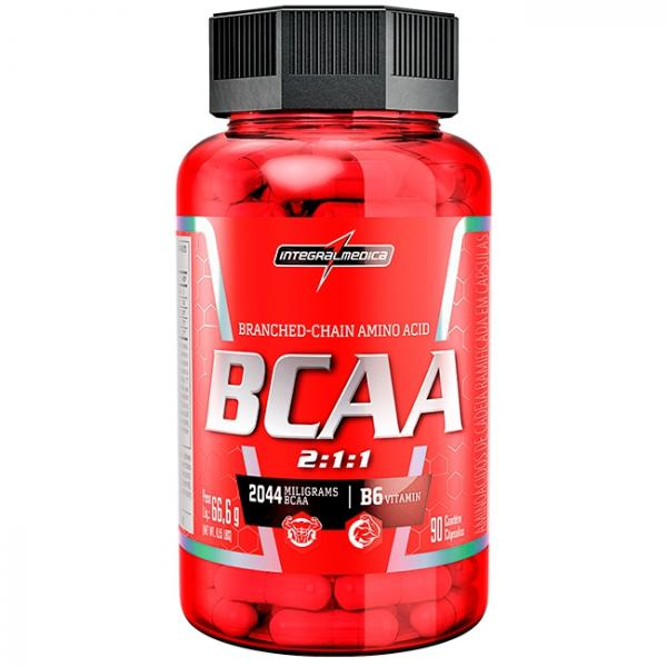 Amino BCAA 2:1:1 (90 Caps) - Integralmédica - Integralmedica