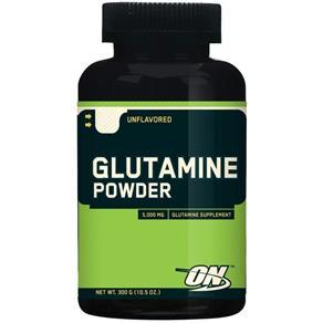 Aminoacido Glutamine Powder 300G - Optimum - SEM SABOR - 300 CÁPSULAS
