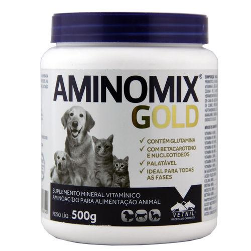 Aminomix Gold 500g Suplemento Vitamínico - Vetnil