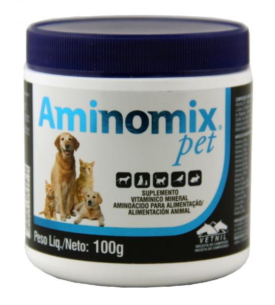 Aminomix Pet 100 Gr - Vetnil