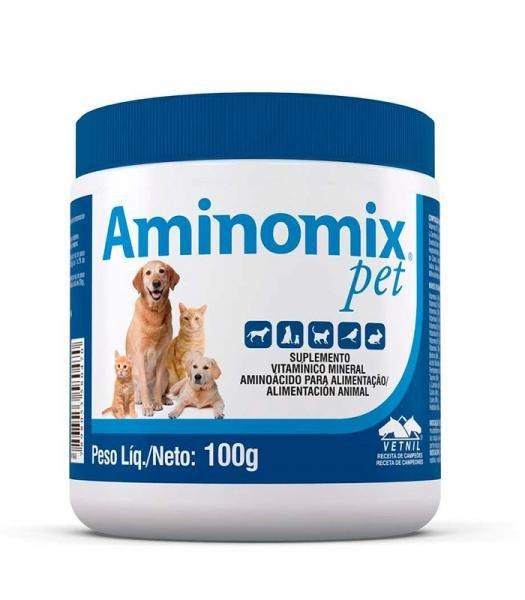 Aminomix Pet 100g Suplemento Vitamínico - Vetnil -