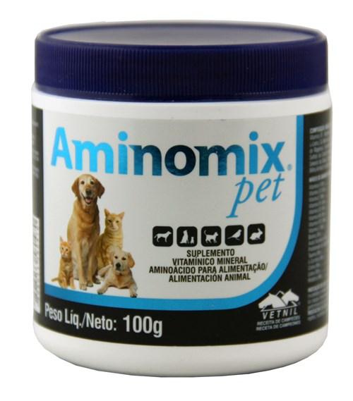 Aminomix Pet 100g Vetnil Suplemento Vitamínico
