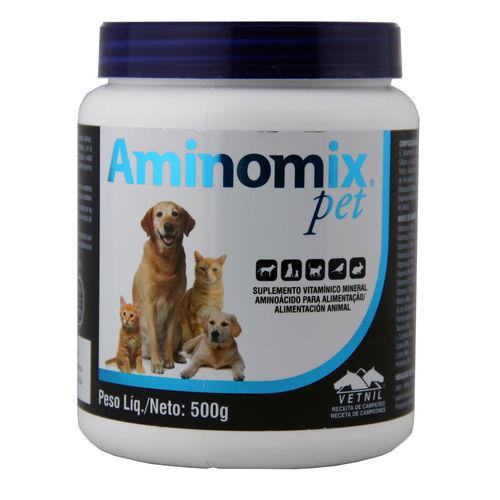 Aminomix Pet 500g Suplemento Vitamínico - Vetnil